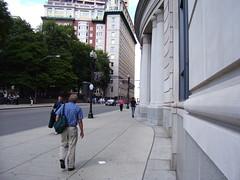 Suffolk Law School Sidewalk