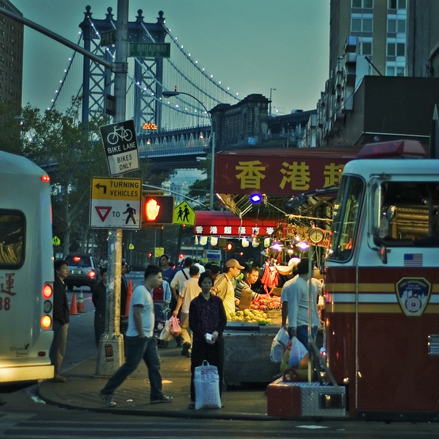 Night Market on East Broadway