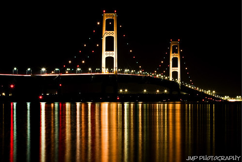 city bridge lake photography michigan great lakemichigan huron lakehuron mackinacbridge mackinaw straitsofmackinac mandj98 scenicmichigan frhwofavs mackinawcitymichigan jmpphotography jamesmarvinphelps virtualjourney mackinacbridgeatnight