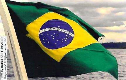 Bandeira do Brasil - Brazilian flag - Bandera del Brasil