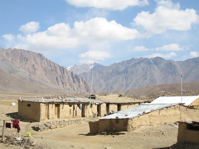 Adobe buildings, Shandur Pass polo ground