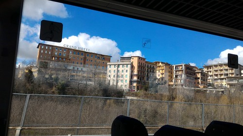 Passing through on the bus - Chianciano Terme, Italy