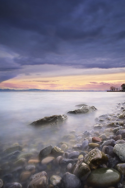 Stormclouds at Lake Constance
