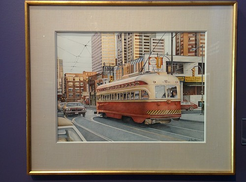 Brushstrokes on Dundas Street, 1979 #toronto #tdgallery #michaelbinette #baystreet #dundasstreet #dundasstreetwest #dundasstreeteast #painting #torontorevealed #torontoreferencelibrary #latergram