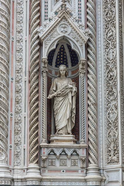 Florence 139 Il Duomo 14 west façade details