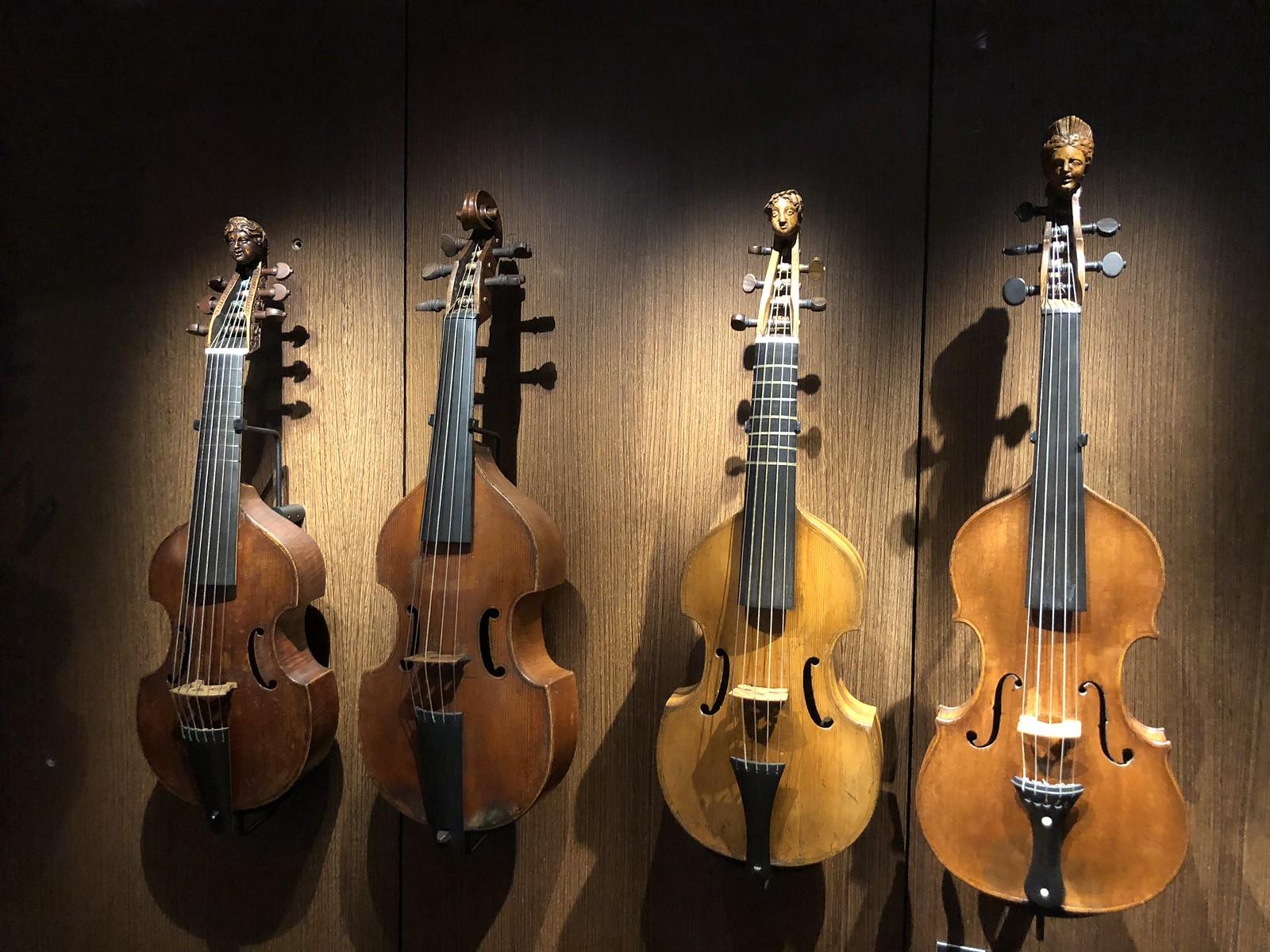 Colección de violas da gamba