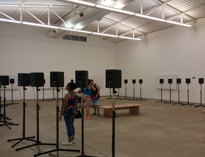 Janet Cardiff, Forty Part Motet, 2001