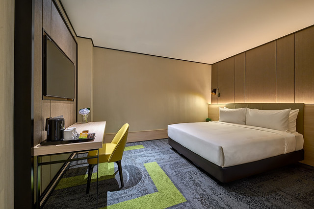 Aerotel KUL - Double Plus Queen Room