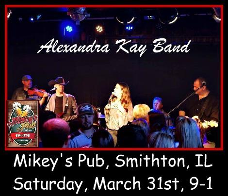 Alexandra Kay Band 3-31-18