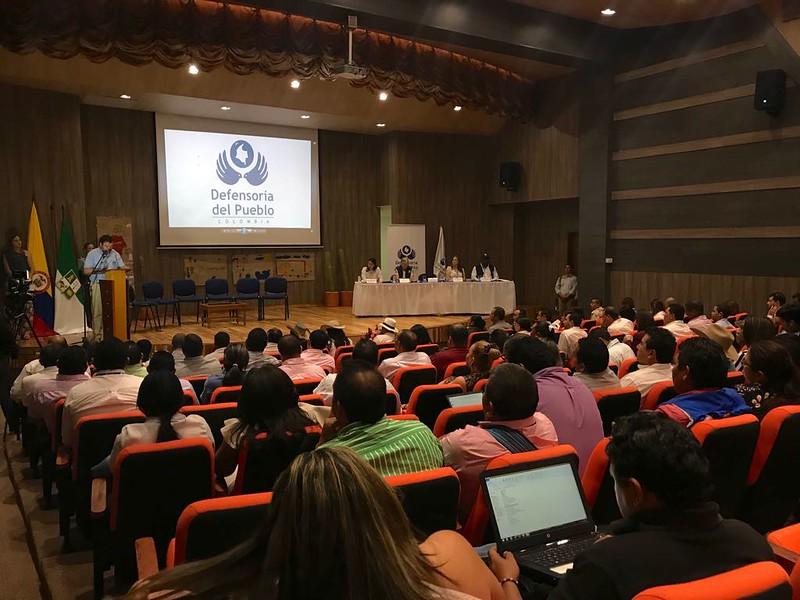Audiencia Defensorial La situación de mortalidad por desnutrición o causas asociadas en el departamento de La Guajira