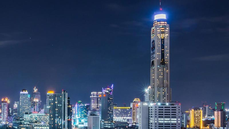 Baiyoke Sky Hotel, Bangkok, Thailand.
