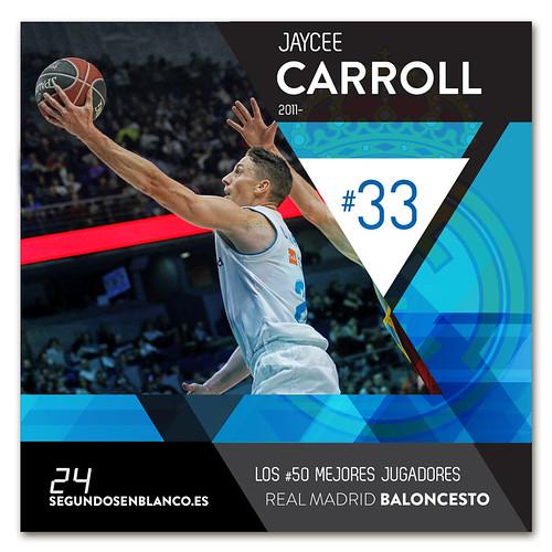 #33 JAYCEE CARROLL