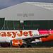 22643 G-EZBF Easyjet A320-200 tartan tail EGCC MAN UK