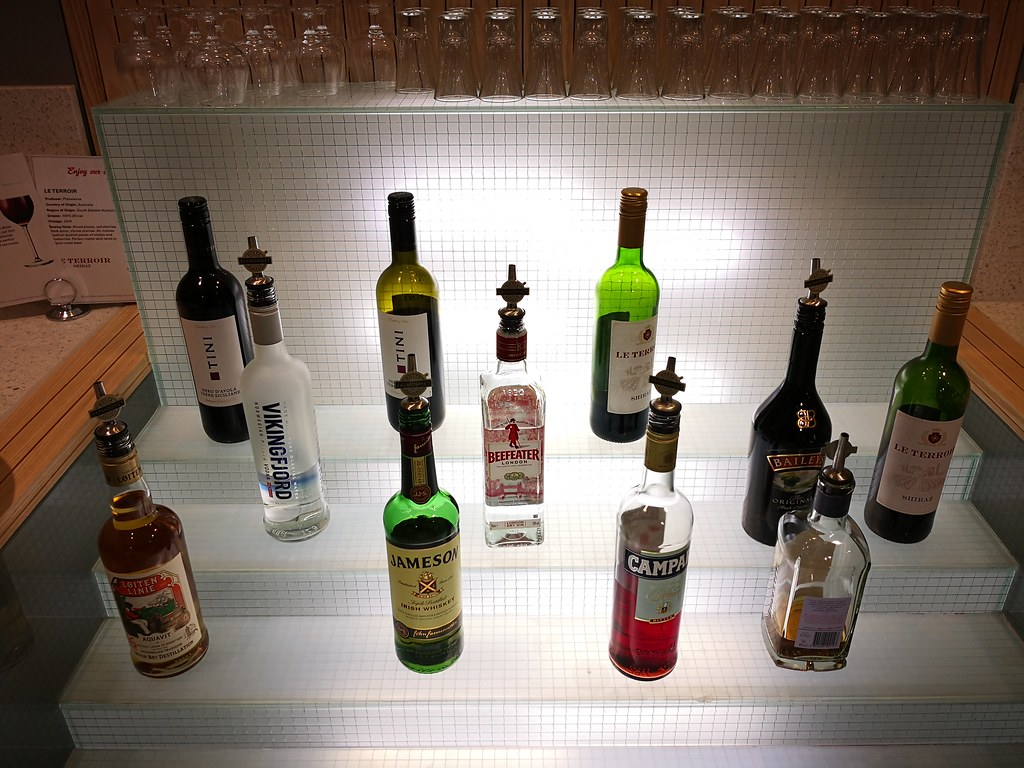 Liquors for guests