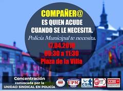 Concentración 17/4/2018 (Madrid)