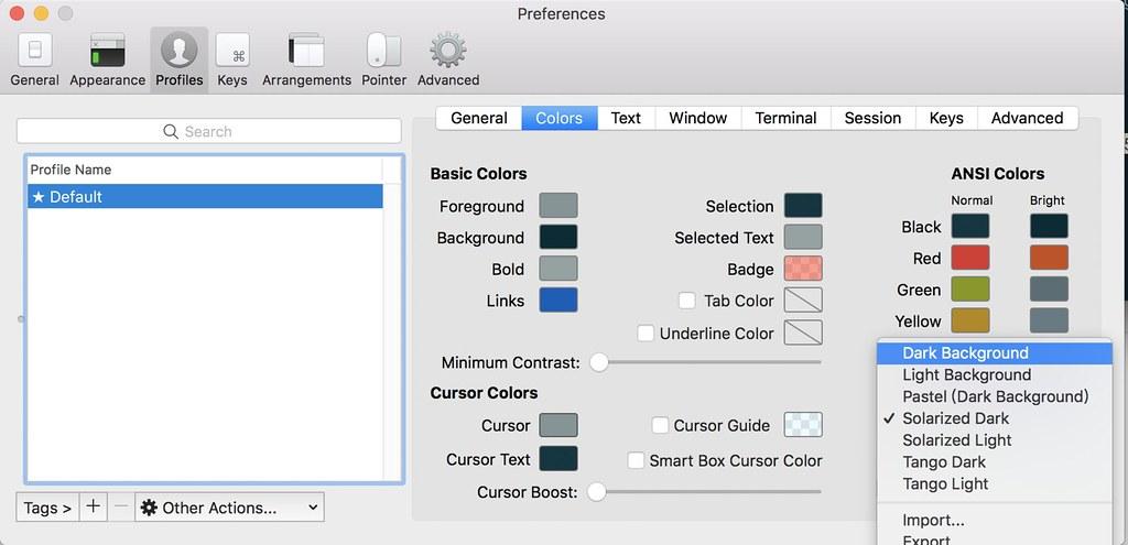 Mac] iTerm + Zsh | scissor lee | Flickr