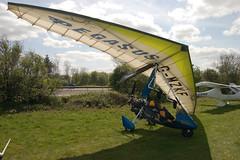 G-MZKF Solar Wings Pegasus [7407] Popham 020509