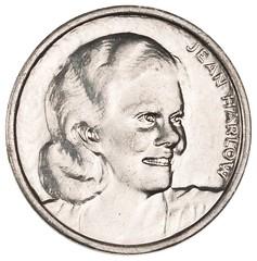 Jean Harlow token obverse