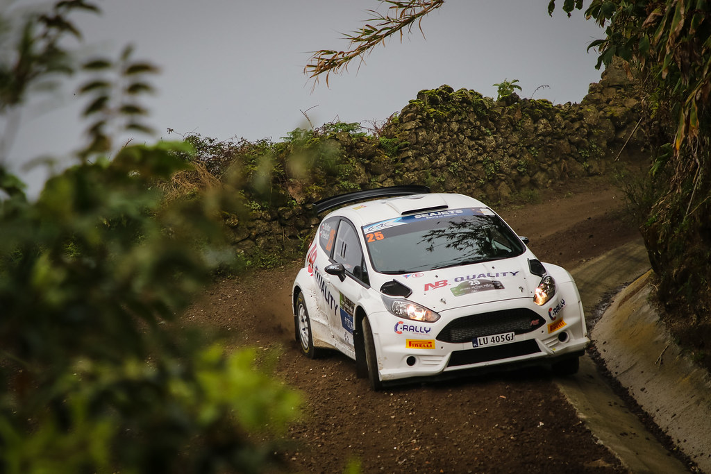 25 KOLTUN Jaroslaw (pol), PLESKOT Ireneusz (pol), FORD FIESTA R5, action during the 2018 European Rally Championship ERC Azores rally,  from March 22 to 24, at Ponta Delgada Portugal - Photo Jorge Cunha / DPPI