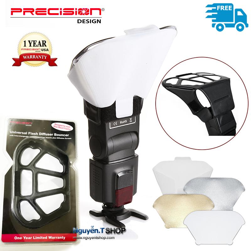 Tản sáng tay gấu đa năng Precision PD-UFDB universal flash diffuser bouncer