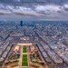 Eiffel Tower View by Darren White Photography