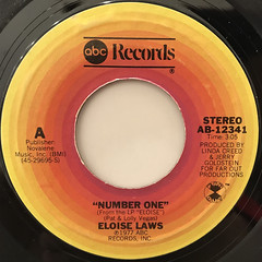 ELOISE LAWS:NUMBER ONE(LABEL SIDE-A)