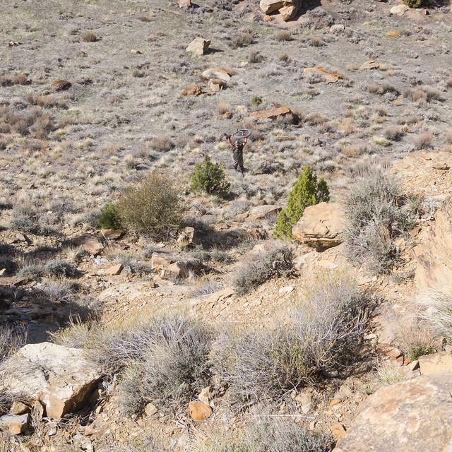 Nate's cliffside retrieval