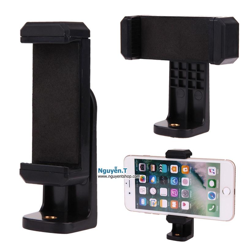 Đế kẹp điện thoại đa hướng xoay 360 độ dùng để livestream, review sản phẩm