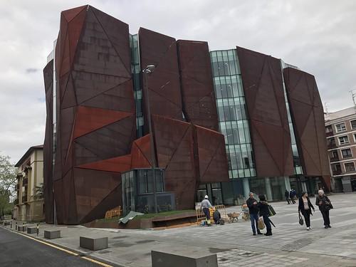 Biblioteca de Getxo: Nueva ubicación