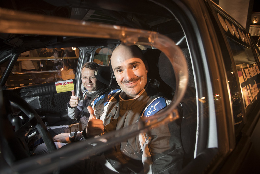 05 ALBERT VON THUR UND TAXI DEU BJORN DEGANDT BEL SKODA FABIA R5, portrait during the 2018 European Rally Championship ERC Azores rally,  from March 22 to 24, at Ponta Delgada Portugal - Photo Gregory Lenormand / DPPI