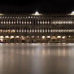 Mon, 03/19/2018 - 00:58 - Piazza San Marco Acqua Alta, St Marks Square durring a very high tide causing the square to flood. Long exposure on a Sony A6000.