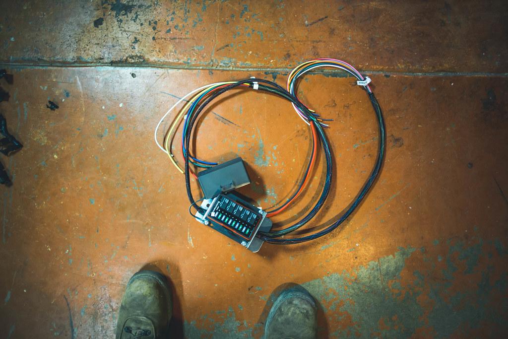Enjoyable 240Z Harness Upgrade Incorporating An Aftermarket Relay Bo Flickr Wiring Digital Resources Anistprontobusorg