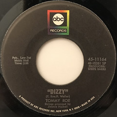 TOMMY ROE:DIZZY(LABEL SIDE-A)