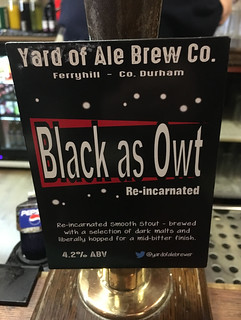 Yard of Ale, Black as Owt, England