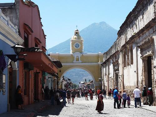 Pohodová koloniální kráska Antigua Guatemala (1. díl)