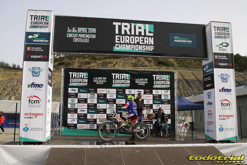 Campeonato de Europa Trial 2018. Parcmotor Castelloli