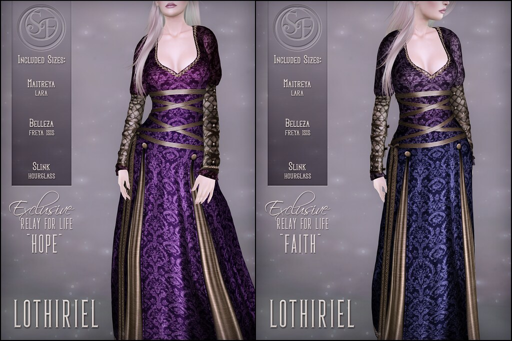 Senzafine . Lothiriel Gown RFL Poster - TeleportHub.com Live!
