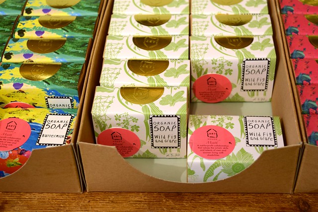 Pretty Soaps at Sowley, Canterbury