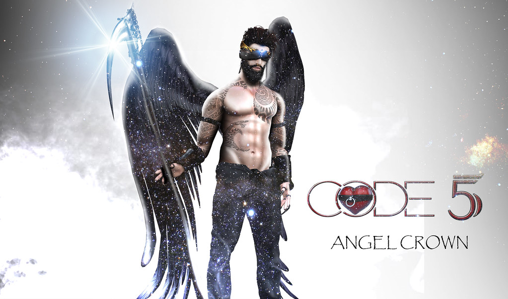 NEW !! CODE-5 ANGEL CROWN MEN V-0.01