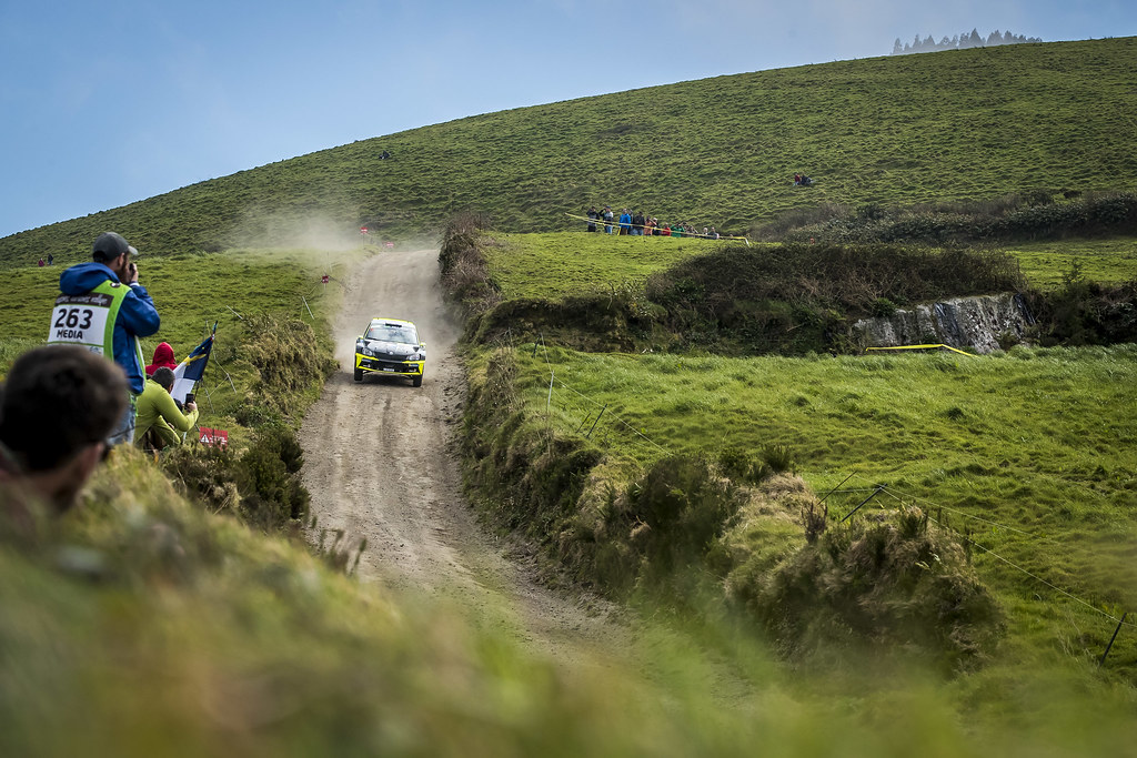 during the 2018 European Rally Championship ERC Azores rally,  from March 22 to 24, at Ponta Delgada Portugal - Photo Gregory Lenormand / DPPI