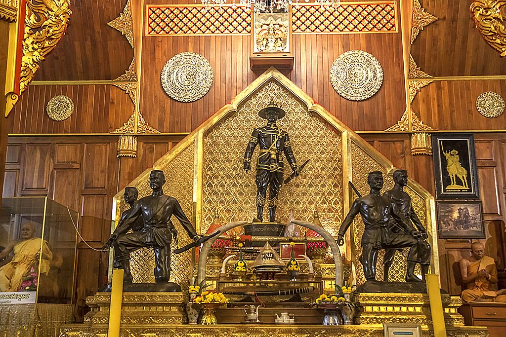 King Taksin Shrine--Chanthaburi