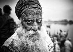 Portrait India B&W