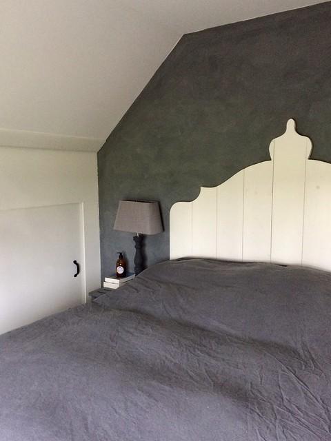 Slaapkamer sober stoer