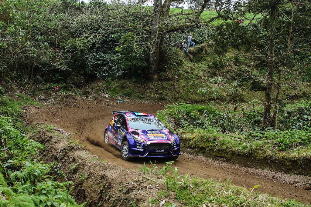19 MOLINARO Tamara (ita), WYDAEGHE Martijn (bel), FORD FIESTA R5, action during the 2018 European Rally Championship ERC Azores rally,  from March 22 to 24, at Ponta Delgada Portugal - Photo Jorge Cunha / DPPI