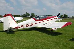 G-RVUK Vans RV-7 (PFA 323-14441)  Popham 080608