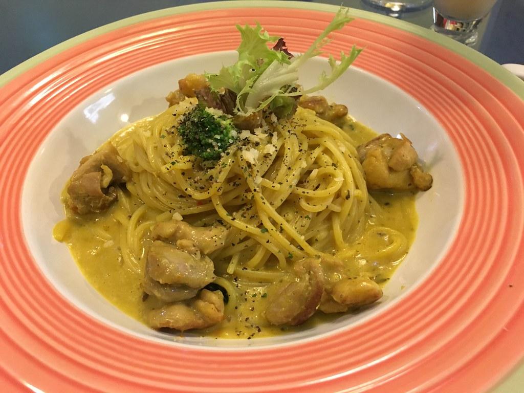 維納斯義式餐廳 沙嗲咖哩嫩雞