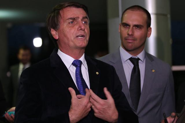 Jair Bolsonaro (PSL) é deputado federal e pré-candidato à Presidência da República - Créditos: Fábio Rodrigues Pozzebom/ Agência Brasil