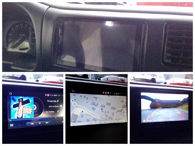 Autoradio Android: GPS, musique, caméra de recul