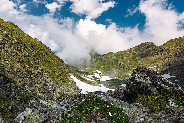 gorgeous cloudscape over the Fagaras mountains-171803 (1)