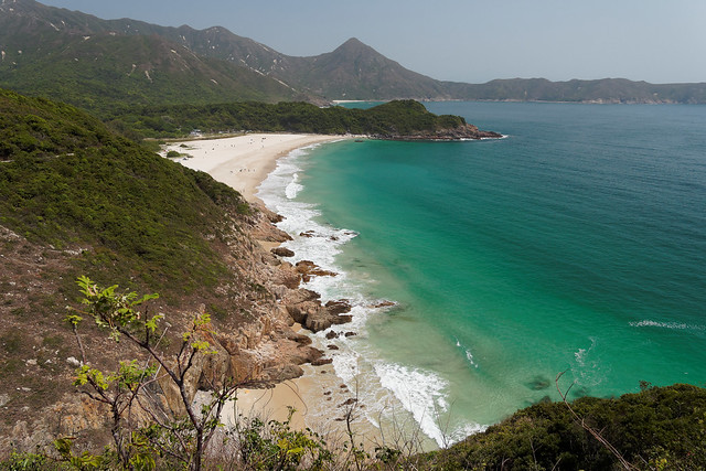 Ham Tin(鹹田) Overlook, MacLehose Trail Section 2